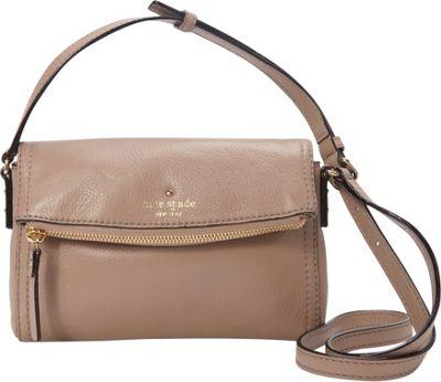kate spade new york Cobble Hill Mini Carson Crossbody Bag Warm Putty - kate spade new york Designer Handbags