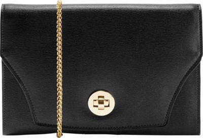 TUSK LTD Madison Large Portable Pocket Black - TUSK LTD Leather Handbags