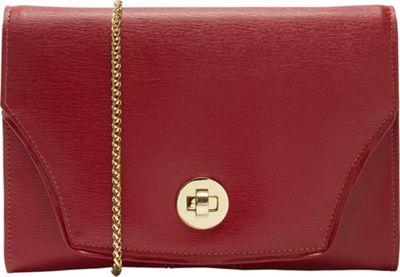 TUSK LTD Madison Large Portable Pocket Red - TUSK LTD Leather Handbags