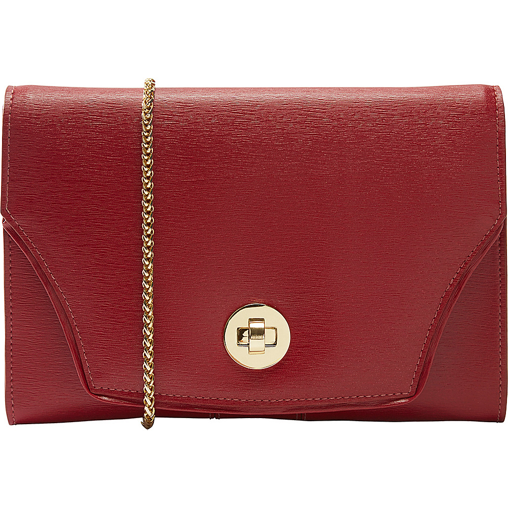 TUSK LTD Madison Large Portable Pocket Red TUSK LTD Leather Handbags