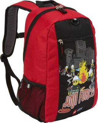 LEGO LEGO Basic Backpack City Fire Join Forces RED - LEGO Everyday Backpacks