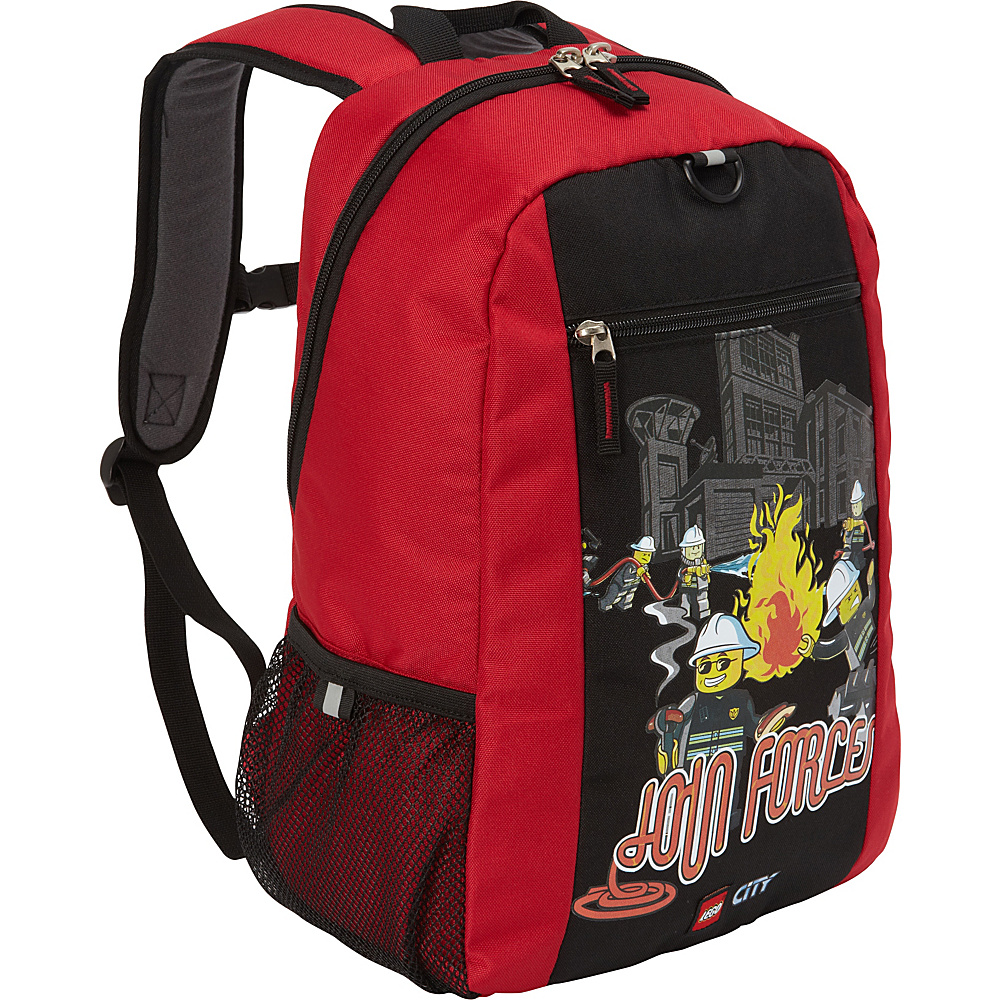 LEGO Basic Backpack City Fire Join Forces RED LEGO Everyday Backpacks