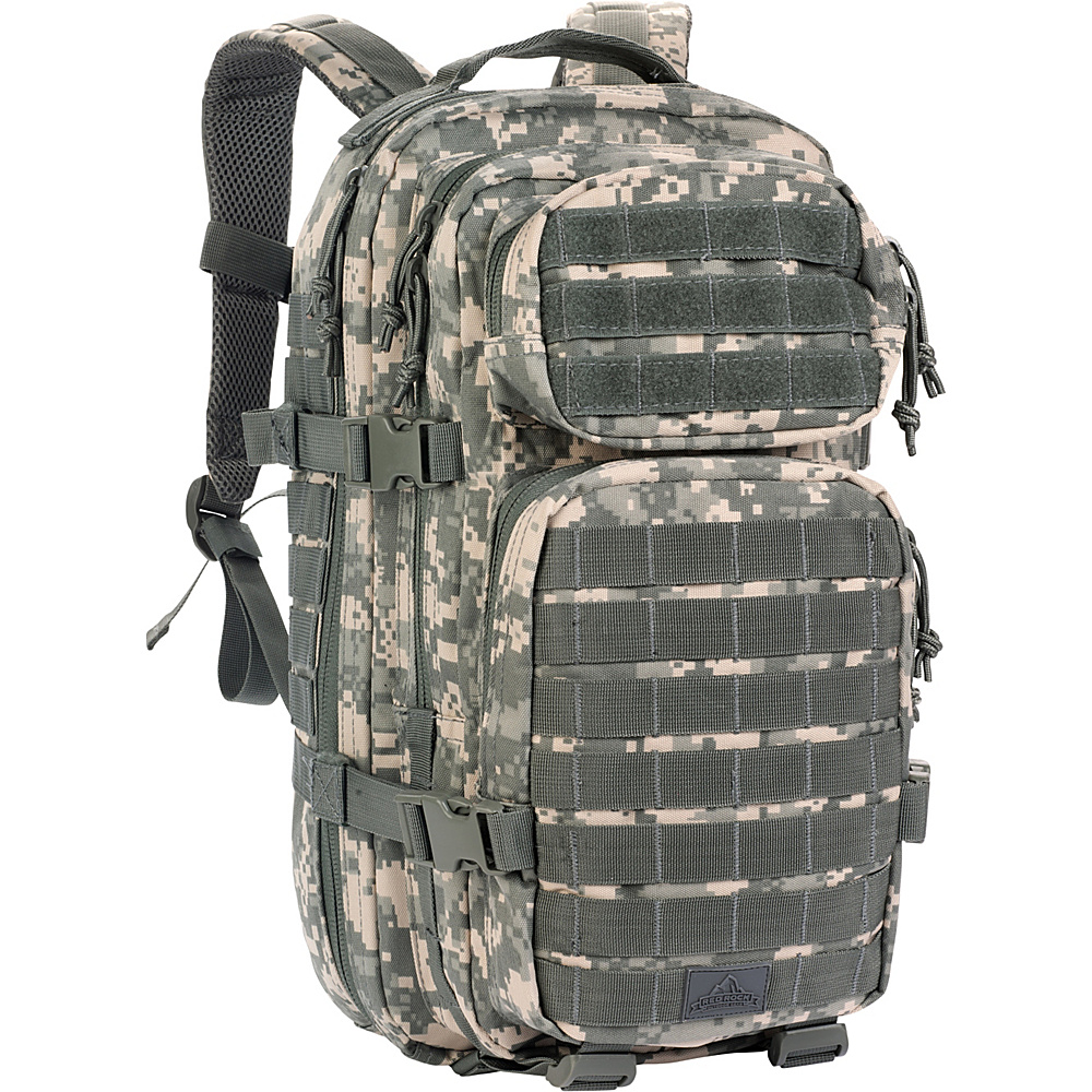 Red Rock Outdoor Gear Assault Pack ACU Camouflage Red Rock Outdoor Gear Day Hiking Backpacks