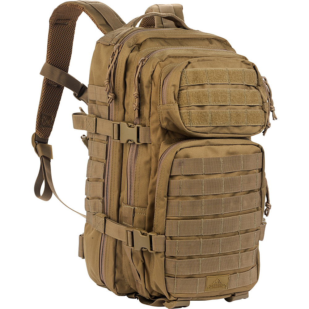 Red Rock Outdoor Gear Assault Pack Coyote Tan Red Rock Outdoor Gear Day Hiking Backpacks