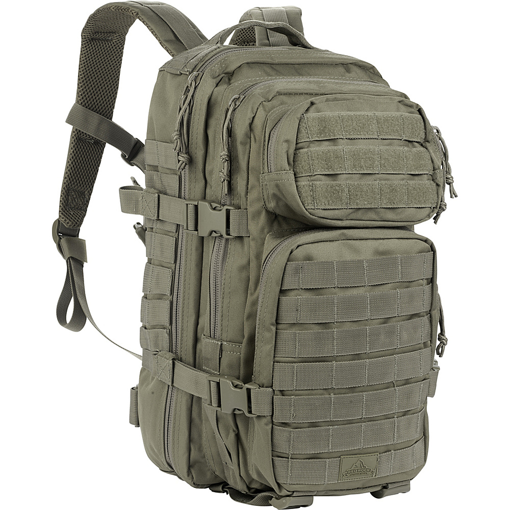 Red Rock Outdoor Gear Assault Pack Olive Drab - Red Rock Outdoor Gear Day Hiking Backpacks