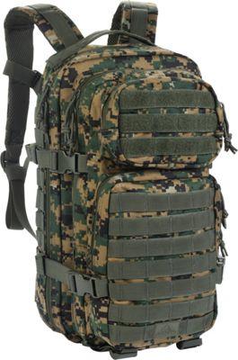 Red Rock Outdoor Gear Assault Pack Woodland Digital Camouflage - Red Rock Outdoor Gear Tactical