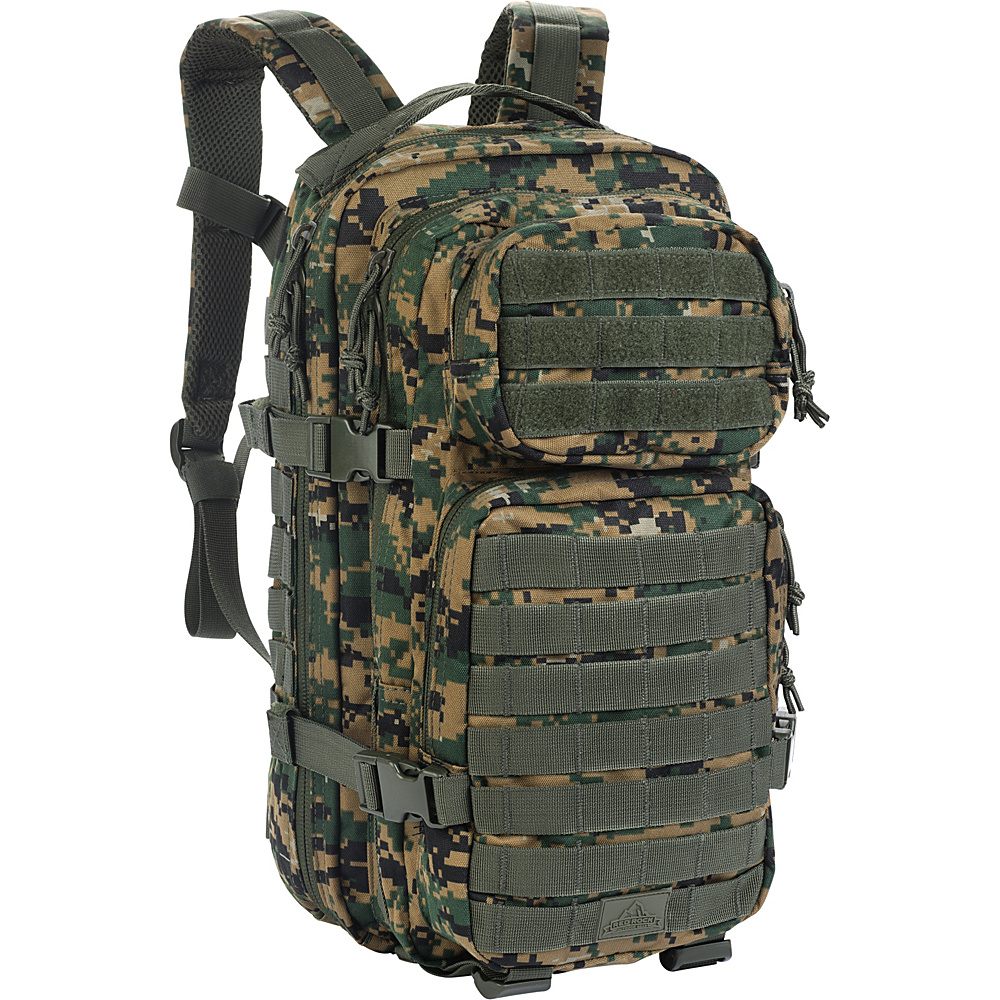 Red Rock Outdoor Gear Assault Pack Woodland Digital Camouflage Red Rock Outdoor Gear Day Hiking Backpacks