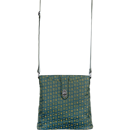baggallini Daisy Crossbody BG Fern - baggallini Fabric Handbags