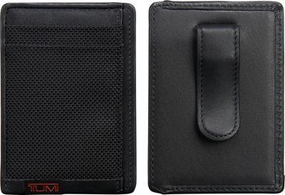 Tumi Alpha Money Clip Card Case Black - Tumi Men's Wallets