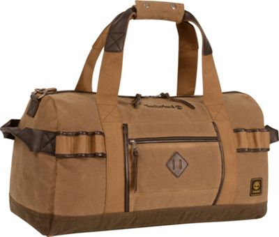 Timberland Mt. Madison Canvas Duffle Tan/Brown - Timberland Travel Duffels