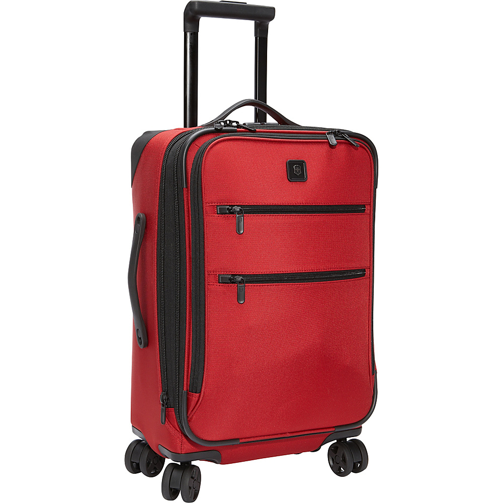 Victorinox Lexicon 22 Dual Caster Carry On Red Victorinox Softside Carry On