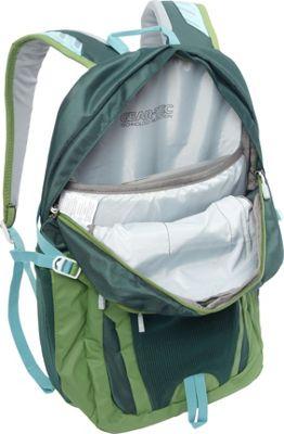 Granite Gear Voyageurs Laptop Backpack Flint/Neolime/Bleumine - Granite Gear Business & Laptop Backpacks
