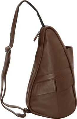 AmeriBag Healthy Back Bag evo Leather Extra Small Chestnut - AmeriBag Leather Handbags