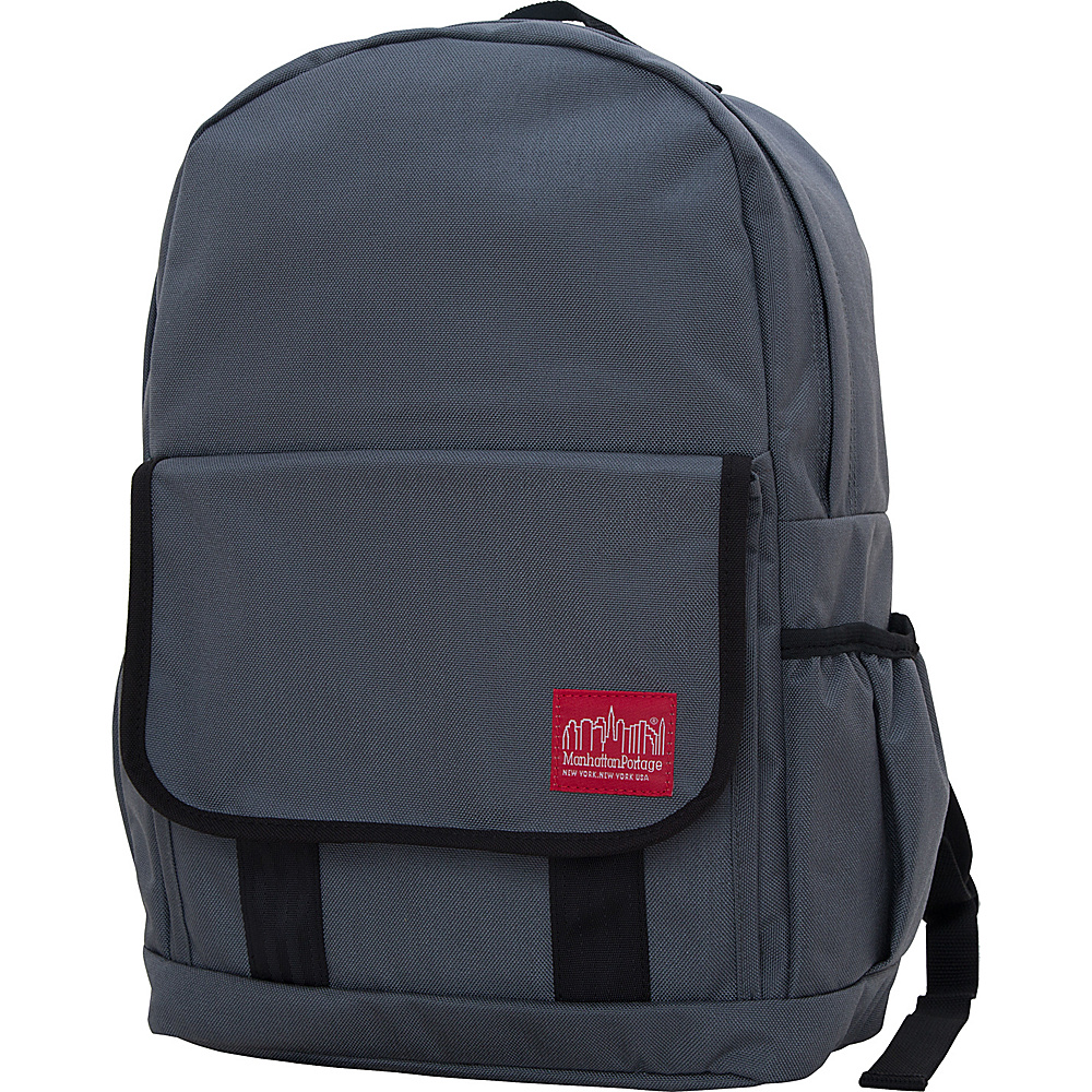 Manhattan Portage Washington Heights Backpack Gray Manhattan Portage Business Laptop Backpacks