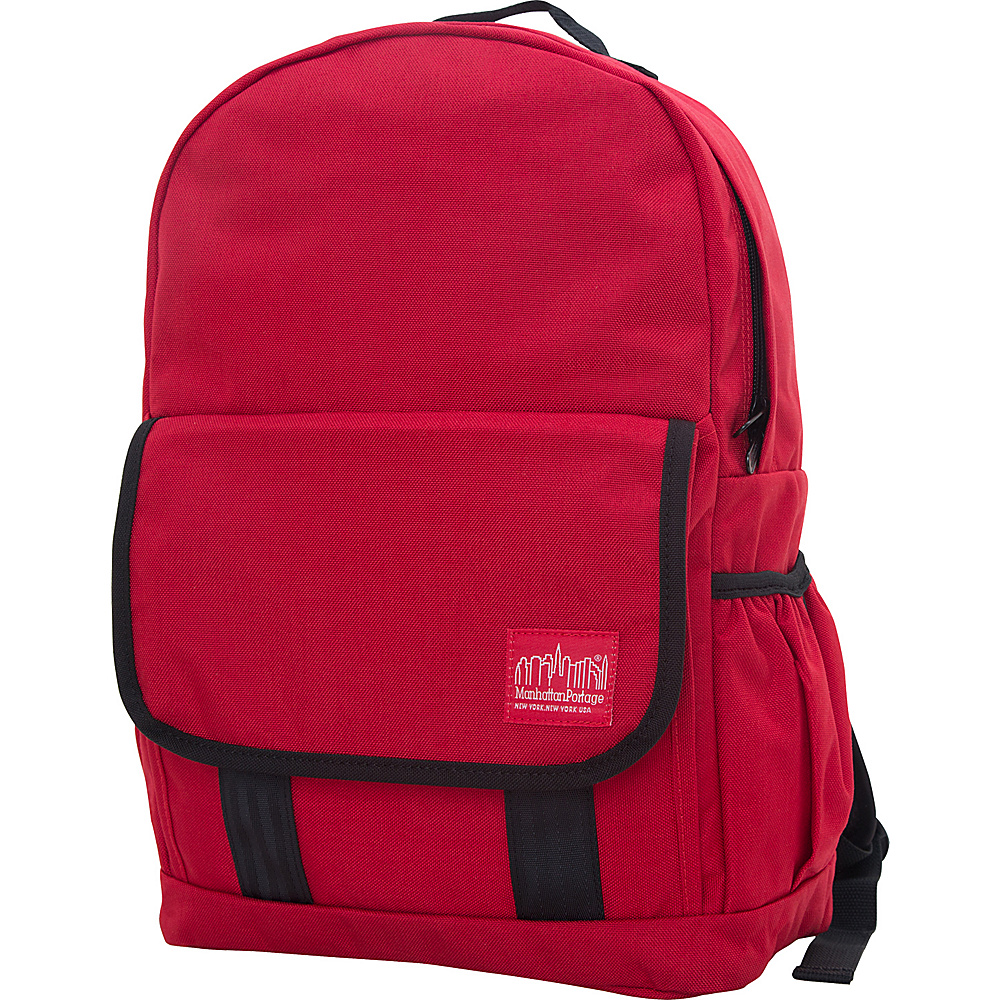 Manhattan Portage Washington Heights Backpack Red - Manhattan Portage Business & Laptop Backpacks - Backpacks, Business & Laptop Backpacks