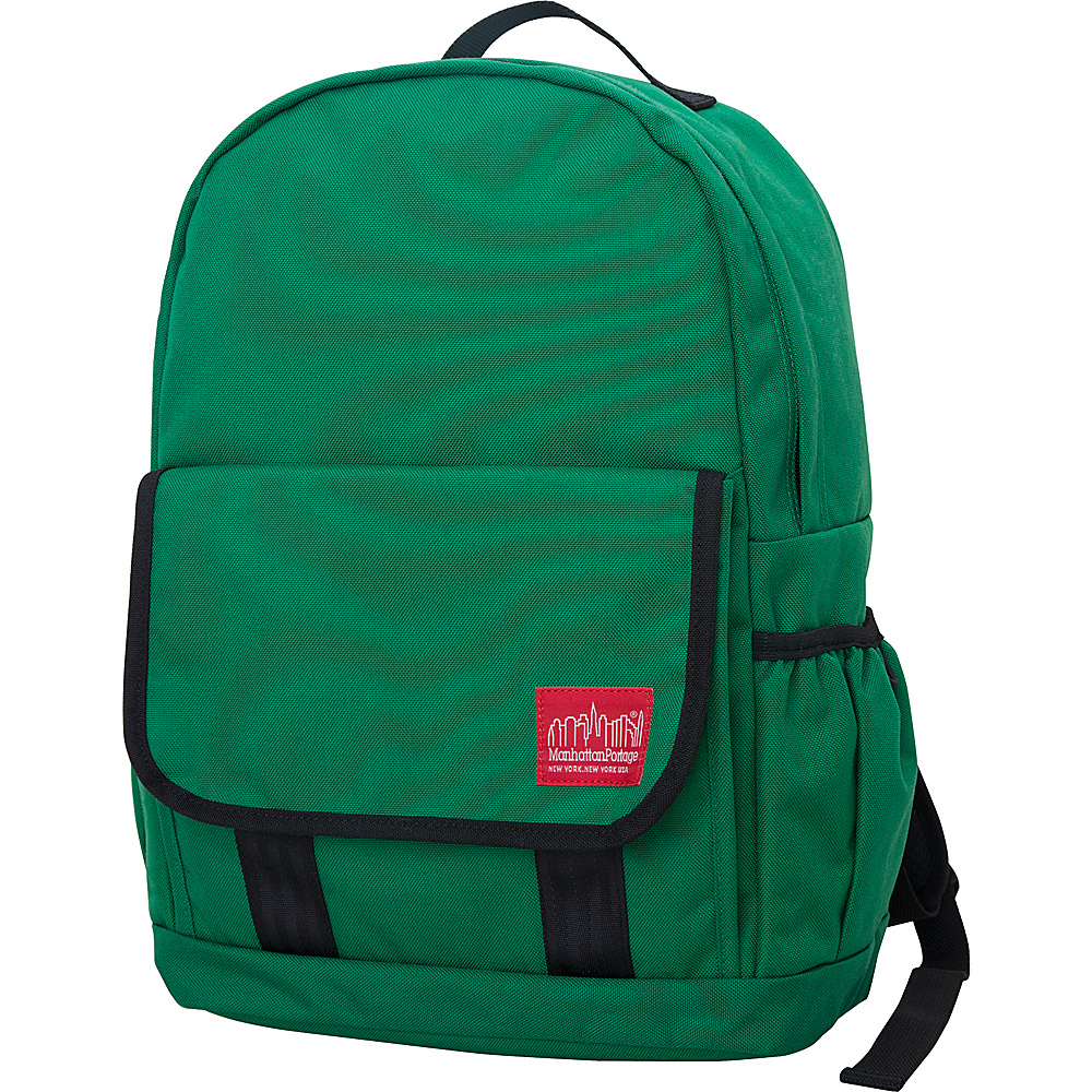 Manhattan Portage Washington Heights Backpack Green - Manhattan Portage Business & Laptop Backpacks - Backpacks, Business & Laptop Backpacks