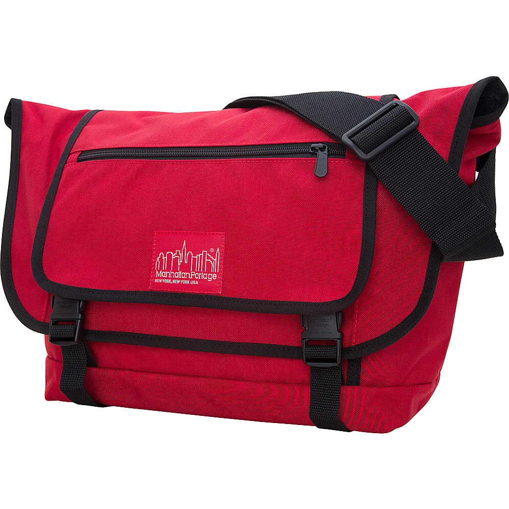 Manhattan Portage Willoughby Messenger Bag Red - Manhattan Portage Other Mens Bags - Work Bags & Briefcases, Other Men's Bags