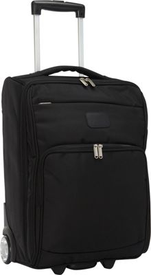 "Image of Bellino 21"" Folding Luggage Black - Bellino Softside Carry-On"