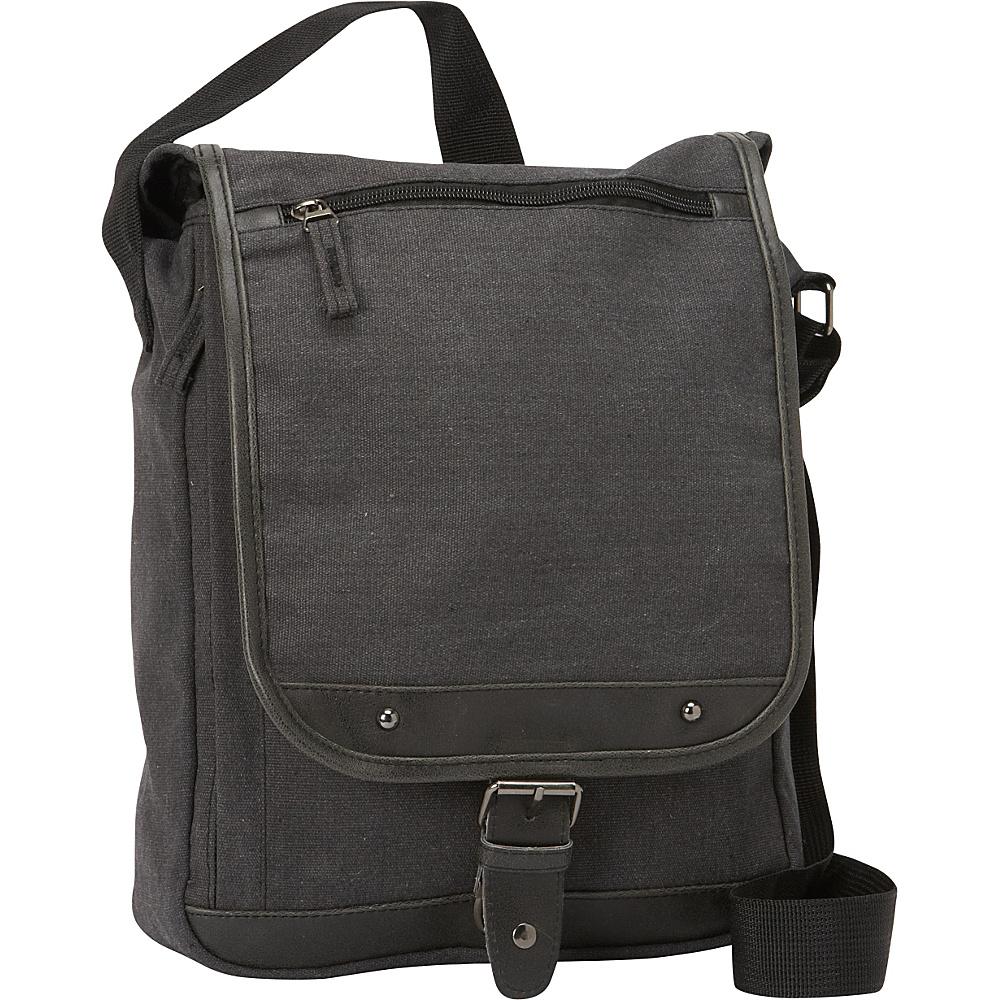 Bellino Tahoe Sling Messenger Black - Bellino Messenger Bags