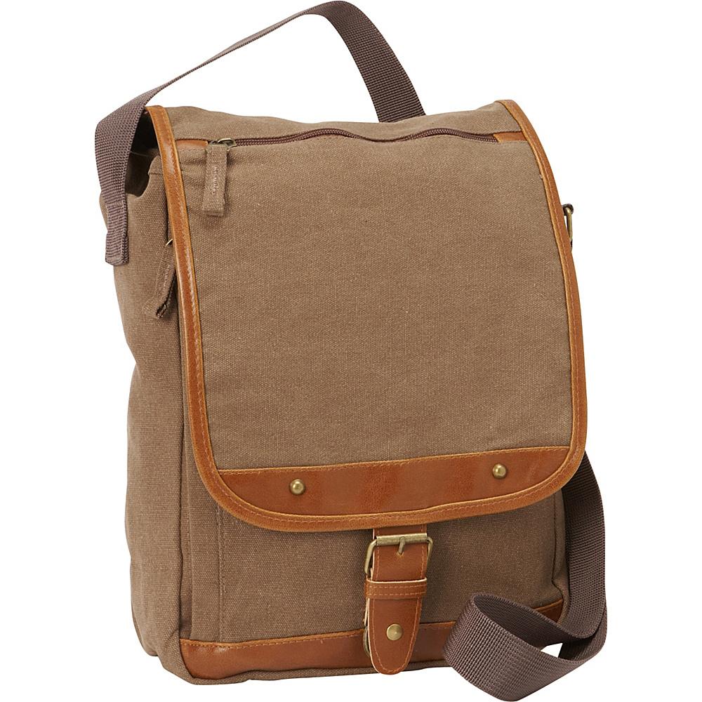 Bellino Tahoe Sling Messenger Tan - Bellino Messenger Bags
