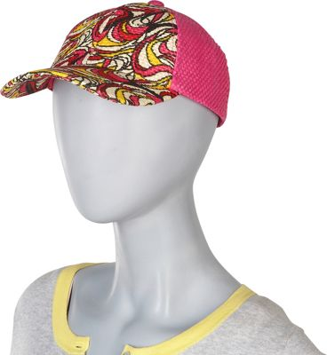 Magid Multicolor Baseball cap One Size - Fuschia - Magid Hats/Gloves/Scarves