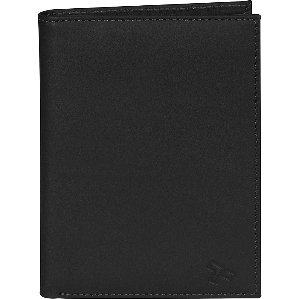Travelon Safe ID Leather Passport Wallet Black - Travelon Mens Wallets - Work Bags & Briefcases, Men's Wallets