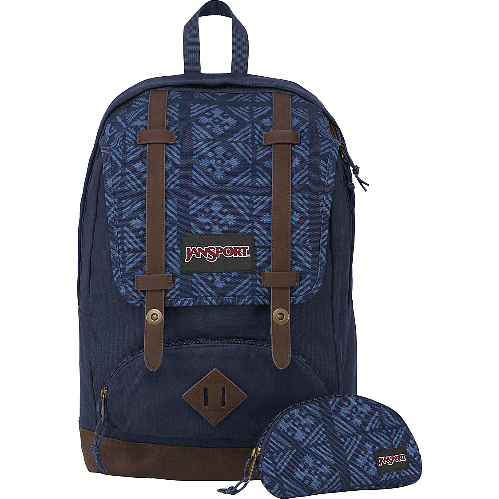 JanSport Baughman Laptop Backpack Navy Moonshine - JanSport Laptop Backpacks - Backpacks, Laptop Backpacks