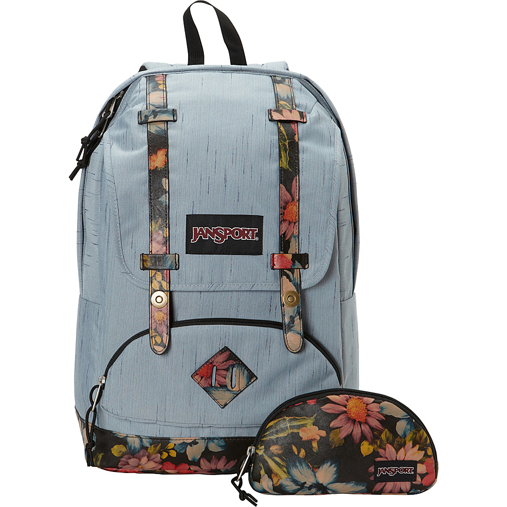JanSport Baughman Laptop Backpack Multi Garden Delight - JanSport Laptop Backpacks - Backpacks, Laptop Backpacks
