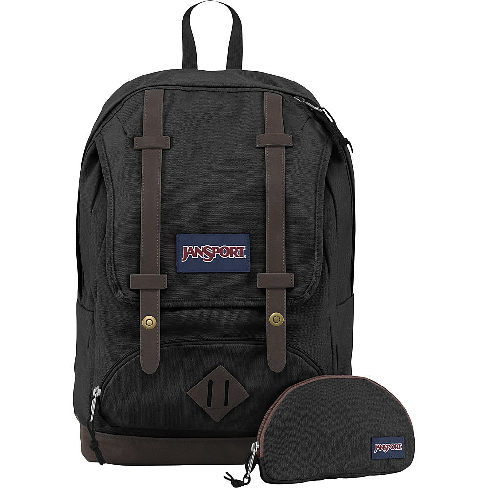 JanSport Baughman Laptop Backpack Black - JanSport Laptop Backpacks - Backpacks, Laptop Backpacks