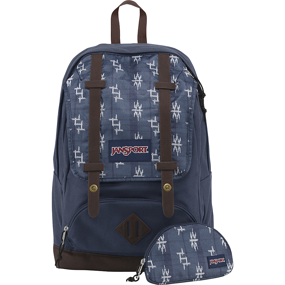 JanSport Baughman Laptop Backpack Navy Tokyo Nights - World Collection - JanSport Laptop Backpacks - Backpacks, Laptop Backpacks