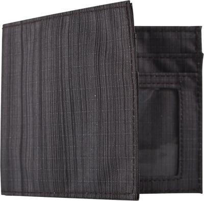 Allett Nylon Inside ID Black - Allett Men's Wallets