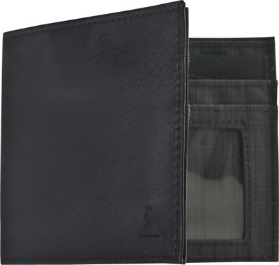 Allett Leather Inside ID Black - Allett Men's Wallets