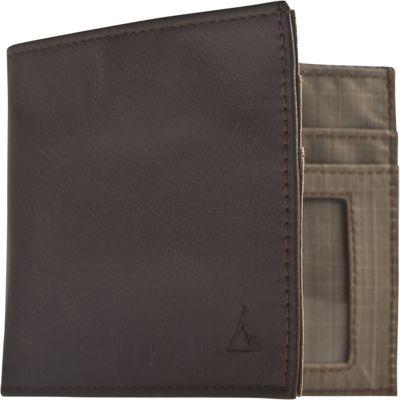Image of Allett Leather Inside ID Brown - Allett Mens Wallets