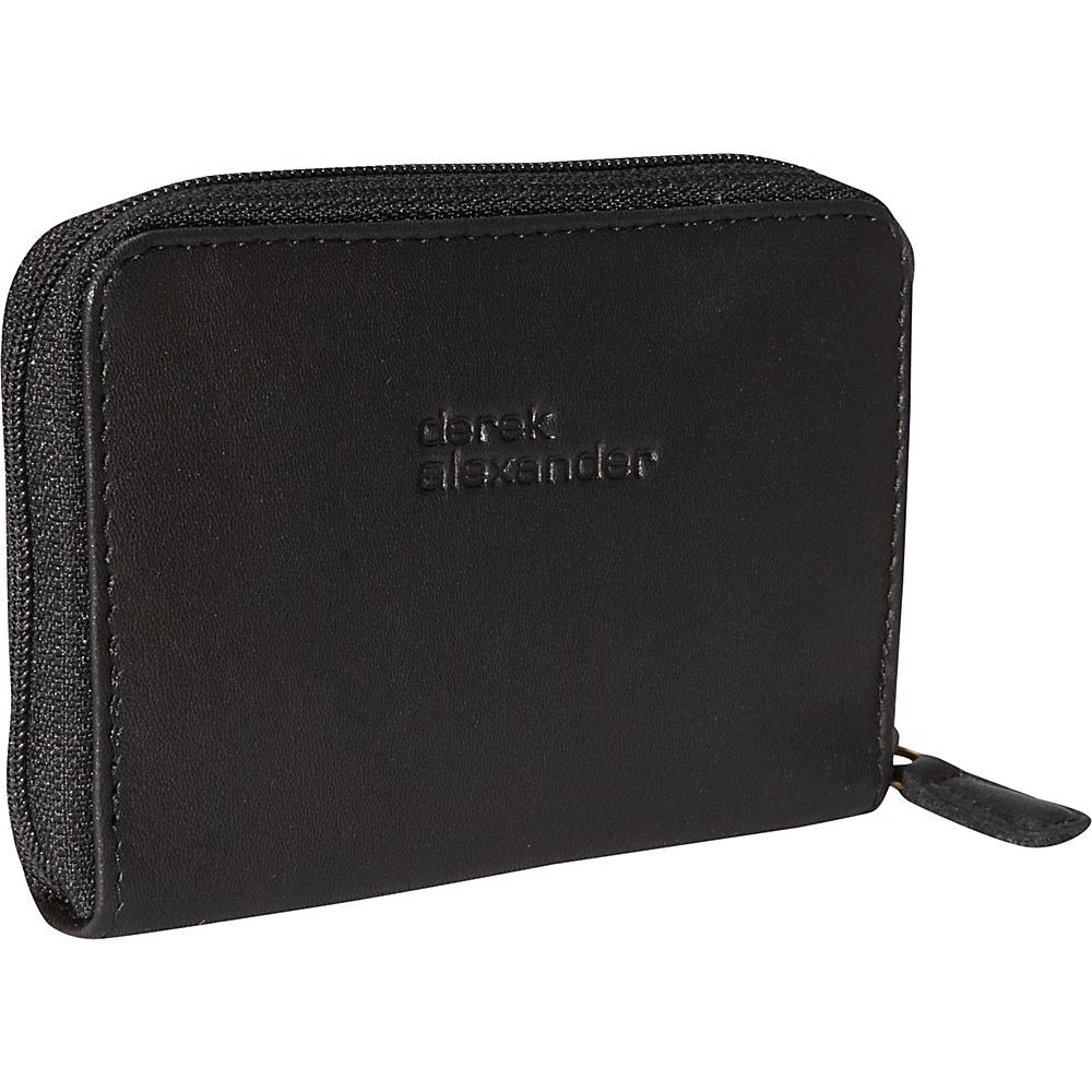 Derek Alexander Accordion Style Card Case Wallet Black - Derek Alexander Mens Wallets - Work Bags & Briefcases, Men's Wallets