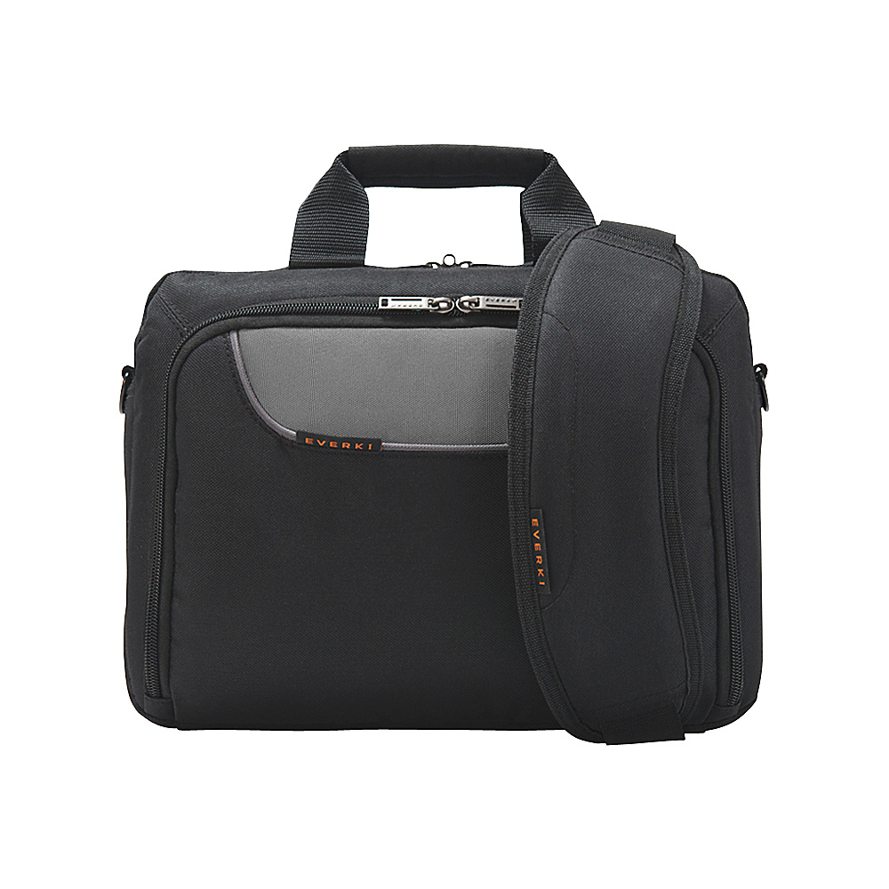 Everki Advance iPad Tablet Ultrabook 11.6 Laptop Bag Black Everki Non Wheeled Business Cases
