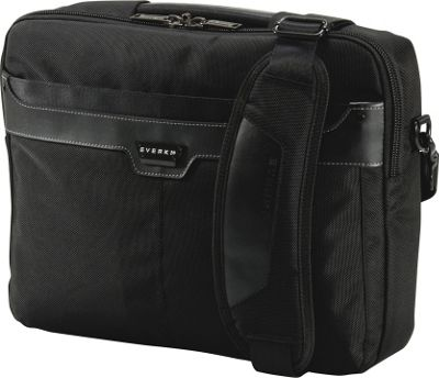 Everki Tempo 13.3 inch Ultrabook/MacBook Air Bag Black - Everki Non-Wheeled Business Cases