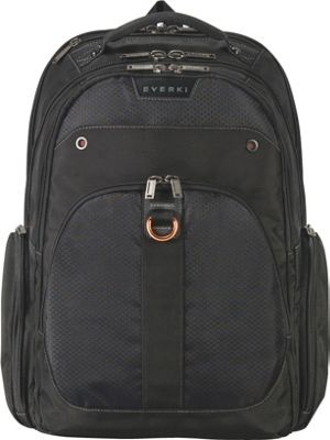 Everki Atlas Checkpoint Friendly Laptop Backpack - 17.3 inch Black - Everki Business & Laptop Backpacks