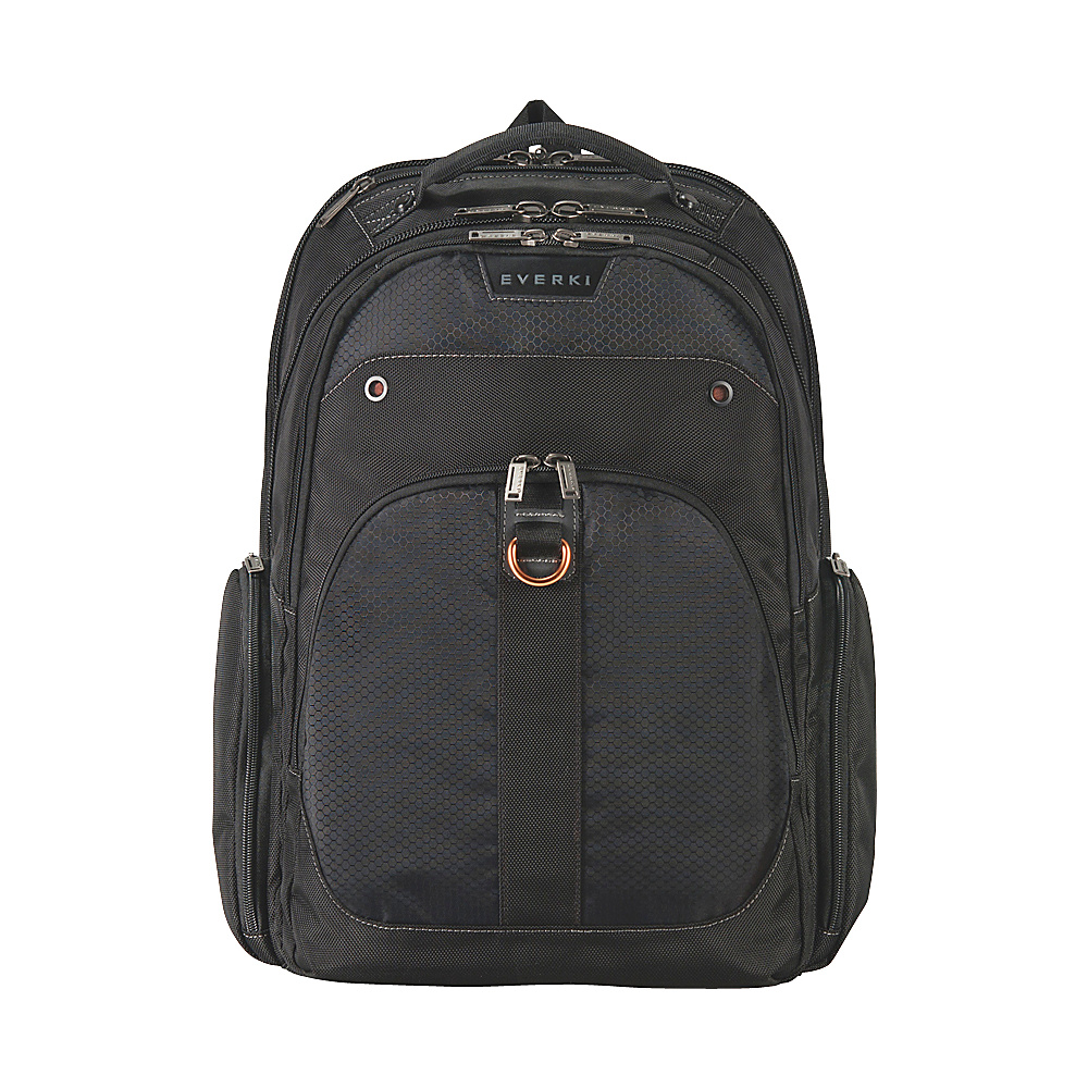 Everki Atlas Checkpoint Friendly Adjustable 17.3 Laptop Backpack Black Everki Business Laptop Backpacks