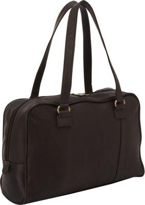 Le Donne Leather Parana Satchel Cafe - Le Donne Leather Leather Handbags