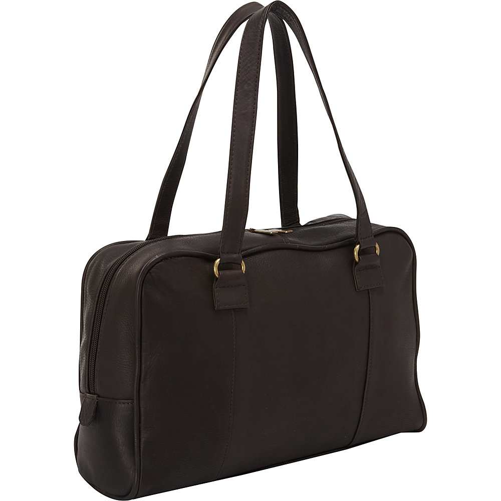Le Donne Leather Parana Satchel Cafe - Le Donne Leather Leather Handbags - Handbags, Leather Handbags