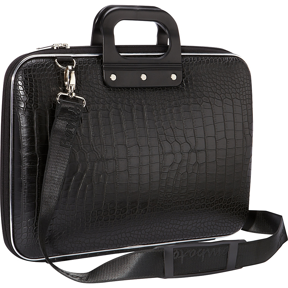 bombata croc 15 inch laptop bag 4 colors non wheeled computer case new ebay. Black Bedroom Furniture Sets. Home Design Ideas