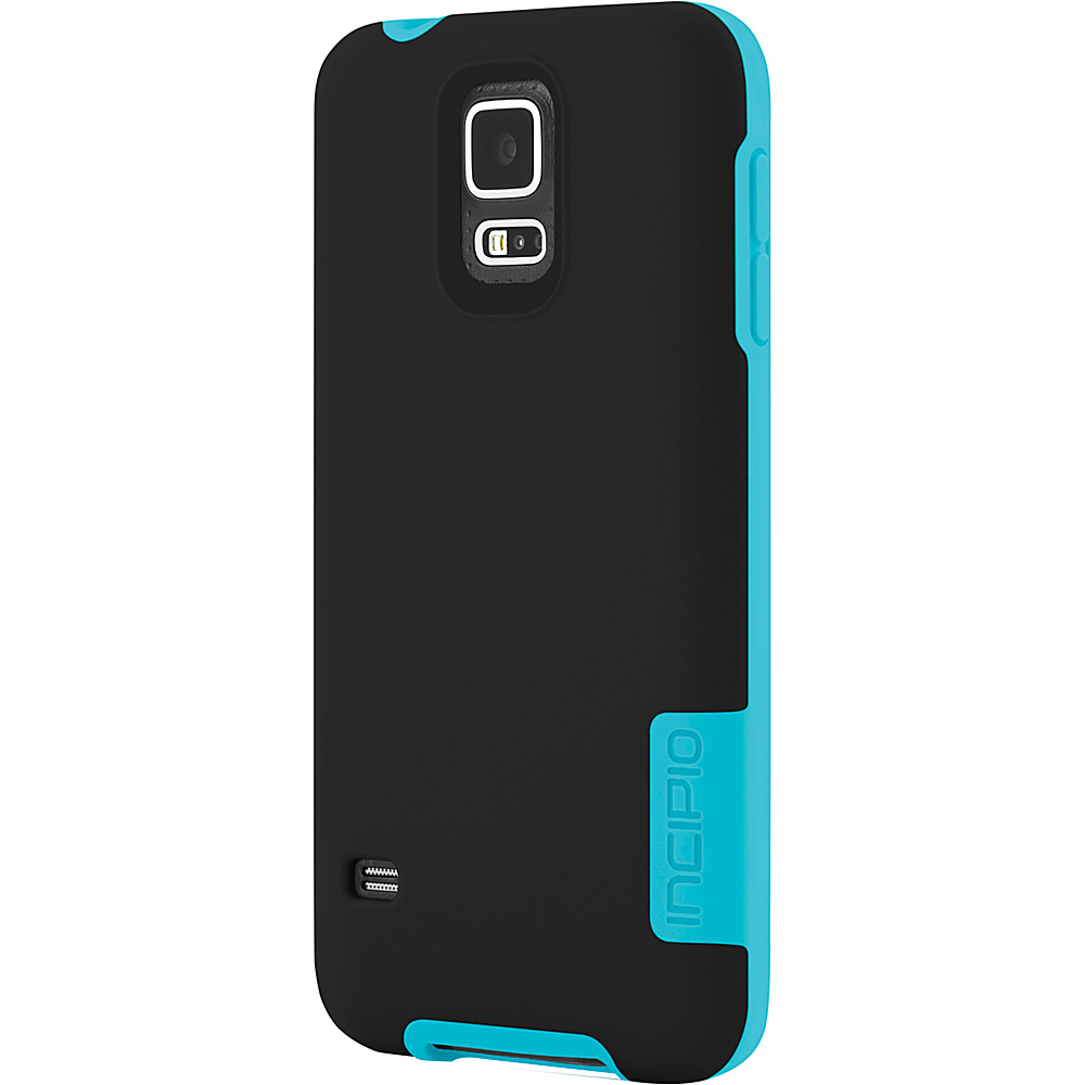 Incipio OVRMLD for Samsung Galaxy S5 Black Turquoise Incipio Electronic Cases