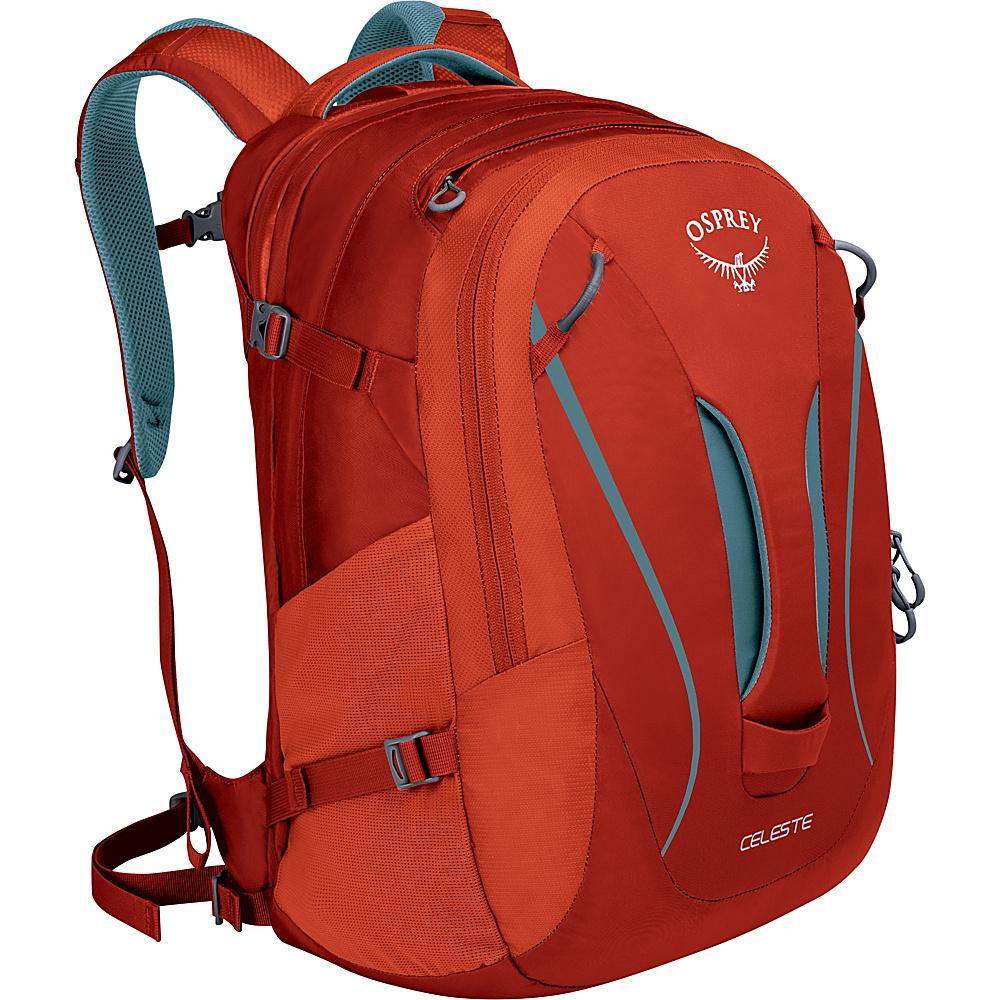 Osprey Celeste Laptop Backpack Sandstone Orange - Osprey Business & Laptop Backpacks - Backpacks, Business & Laptop Backpacks