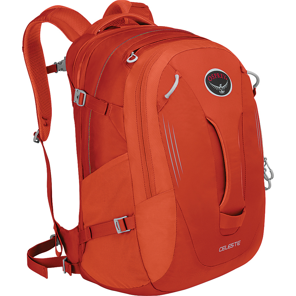 Osprey Celeste Laptop Backpack Candy Orange Osprey Business Laptop Backpacks