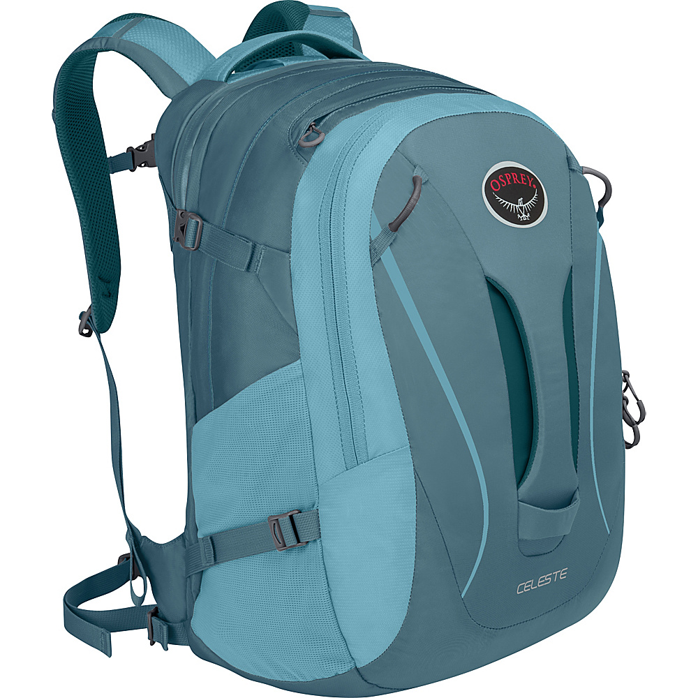 Osprey Celeste Laptop Backpack Liquid Blue - Osprey Business & Laptop Backpacks - Backpacks, Business & Laptop Backpacks