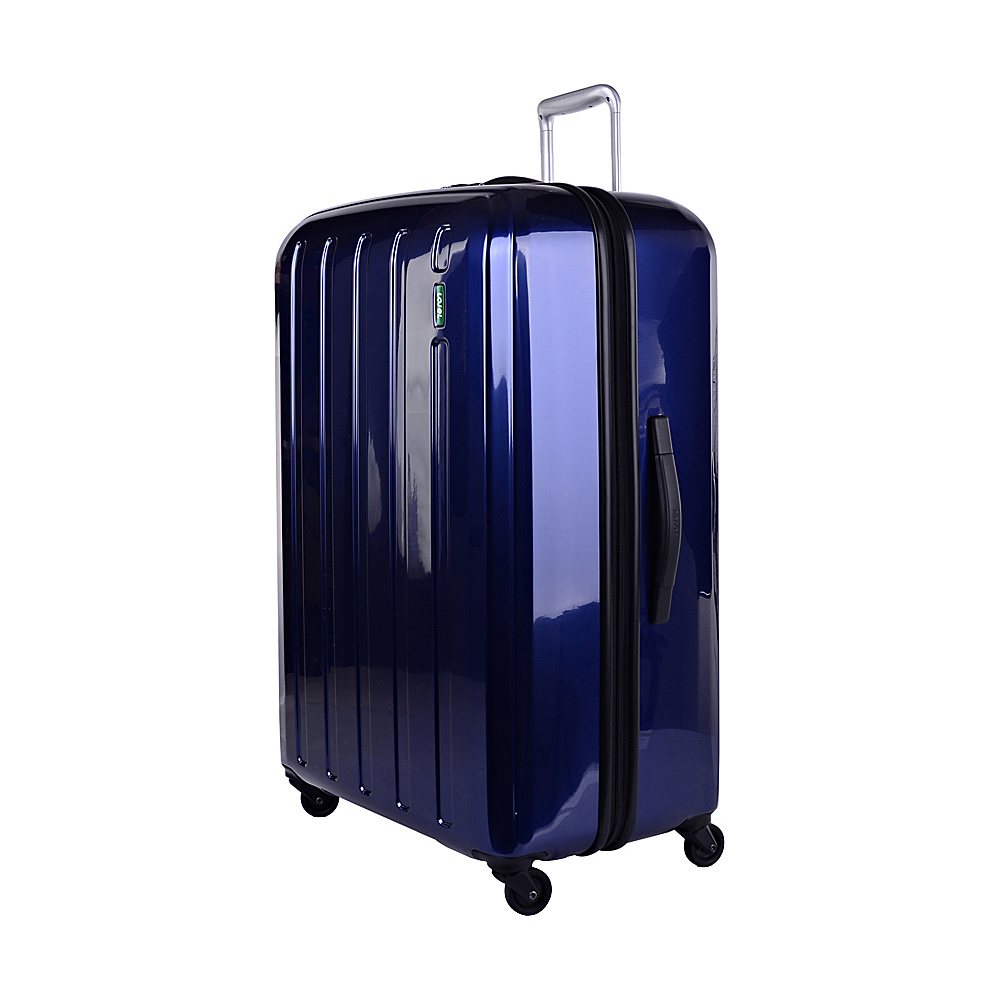 Lojel Lucid Large Luggage Navy Lojel Hardside Checked