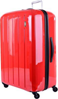 Lojel Lucid Large Luggage Red - Lojel Large Rolling Luggage