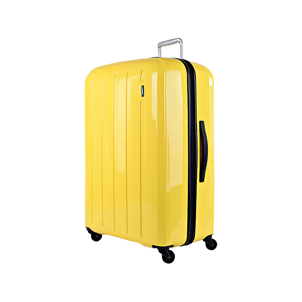 Lojel Lucid Large Luggage Yellow Lojel Hardside Checked