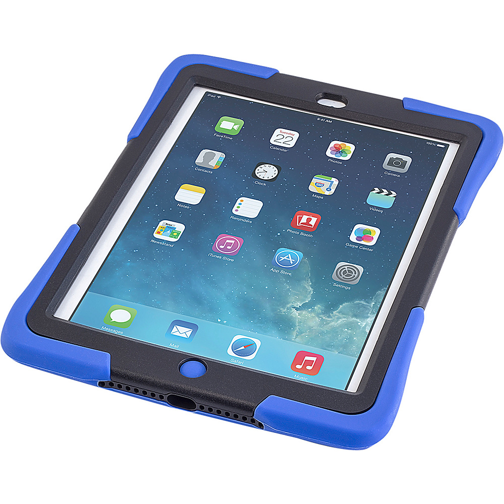 Devicewear Caseiopeia Keepsafe Strap for iPad Air Blue Devicewear Electronic Cases