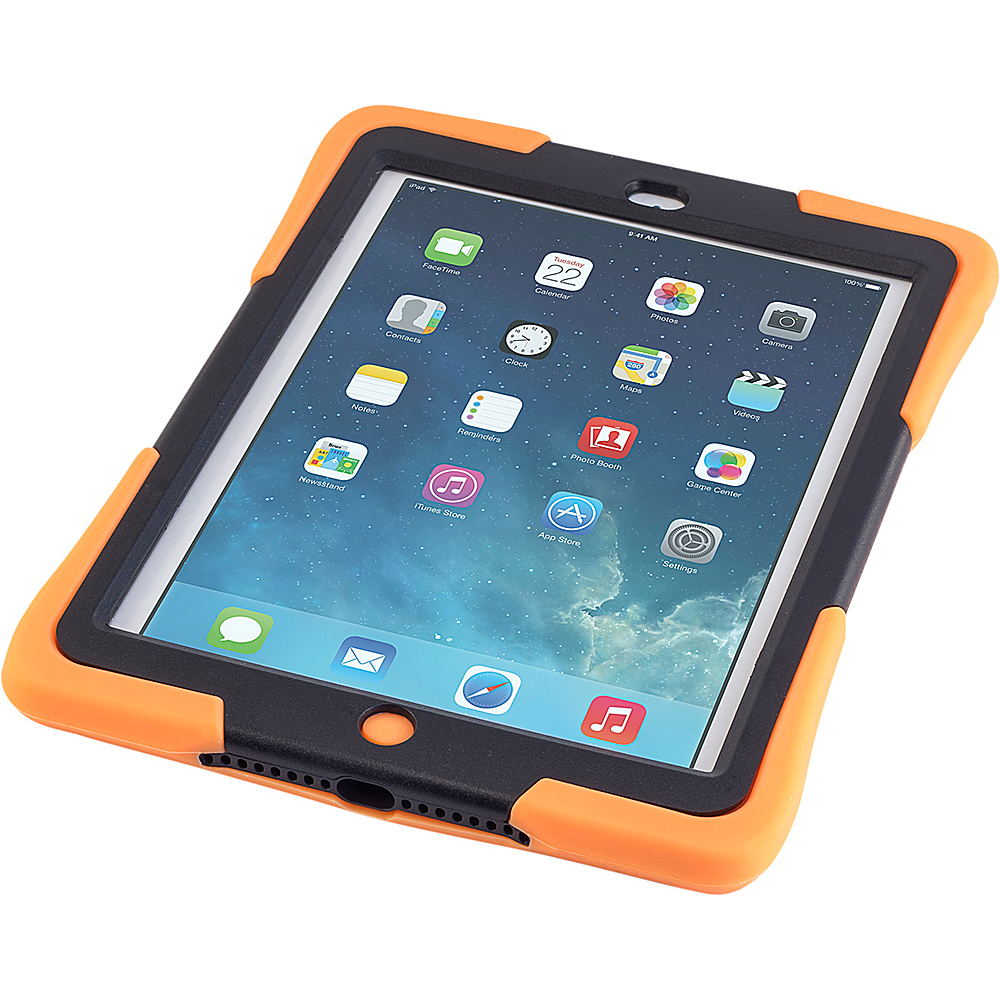 Devicewear Caseiopeia Keepsafe Strap for iPad Air Orange Devicewear Electronic Cases